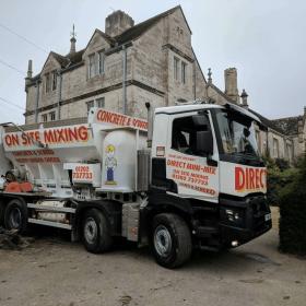on site concrete services Dorset