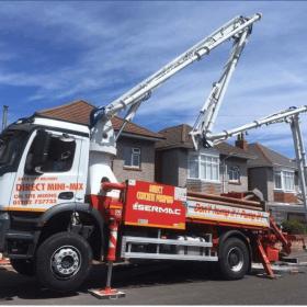 Professional on site concrete services Dorset