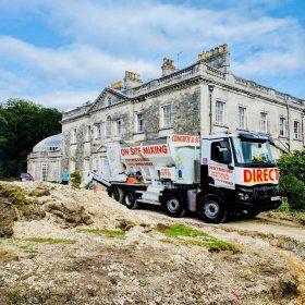 Foamed concrete services poole