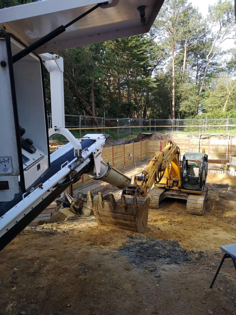 concrete foundation in poole