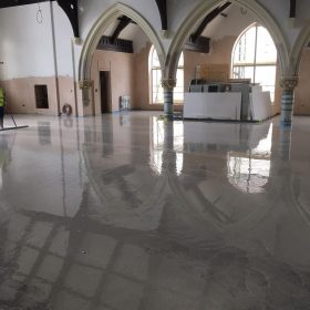 liquid screed church 2