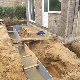Professional on site concrete services in poole