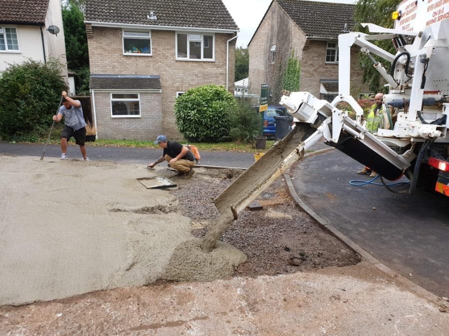 Professional on site concrete services