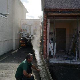 On site concrete company