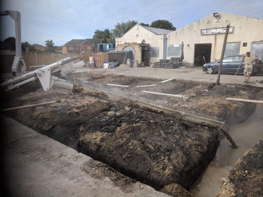 local Commercial concrete dorset