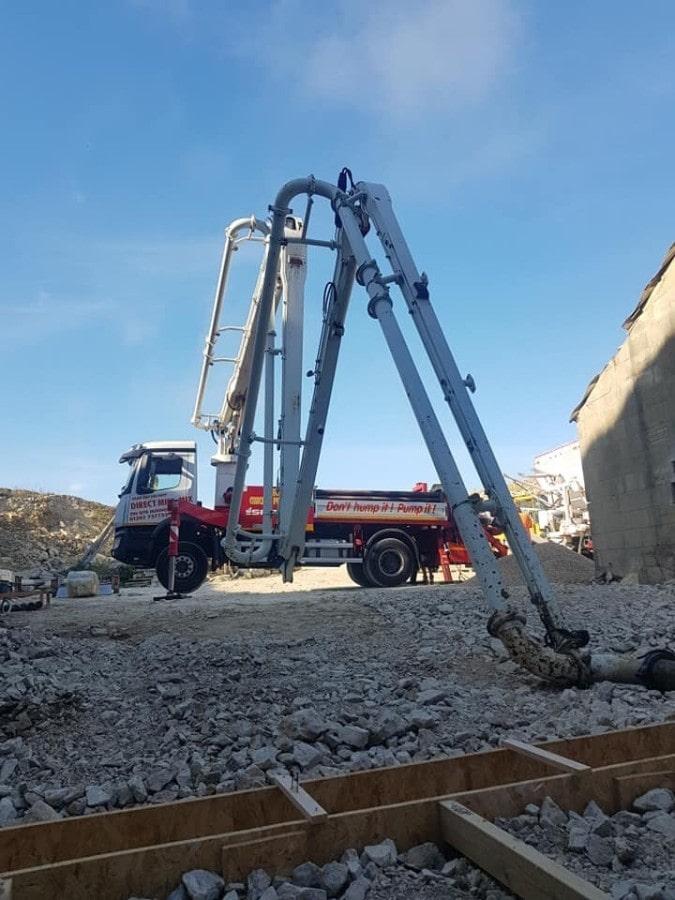 Commercial concrete company in dorchester