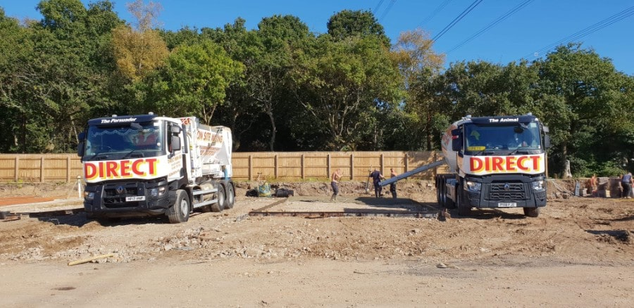 Commercial concrete company