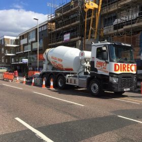 Commerical fast dry screed