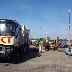 Commerical fast dry screed company
