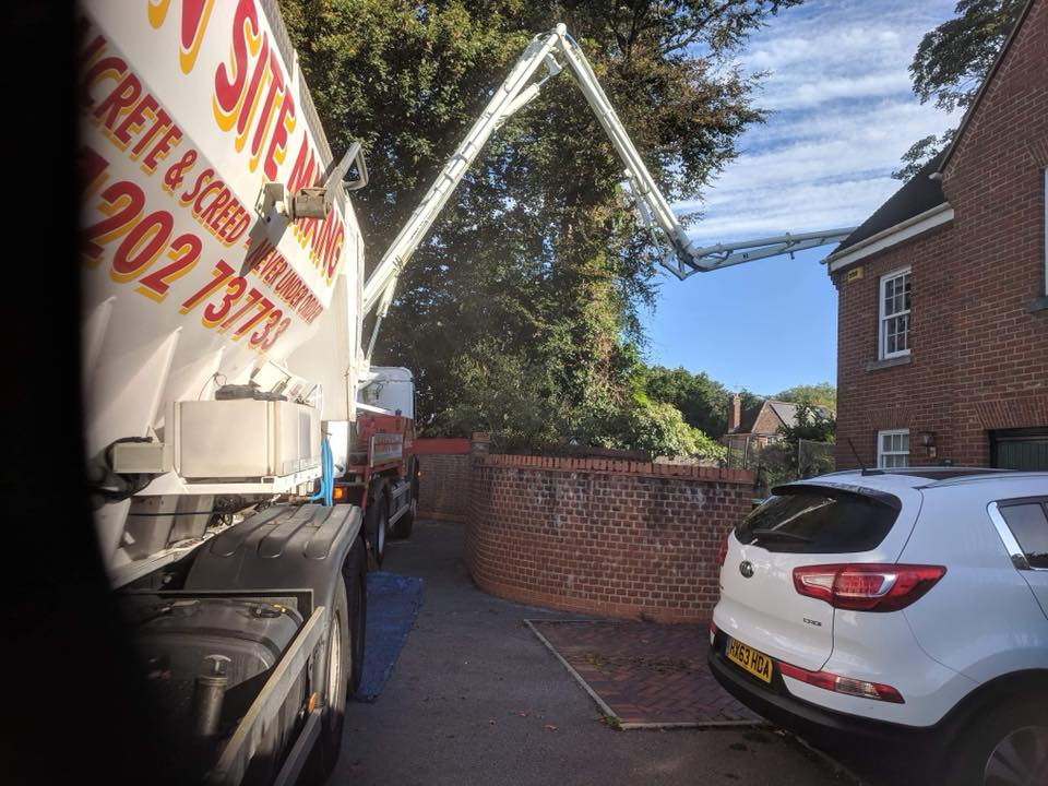 Commerical fast dry screed dorchester