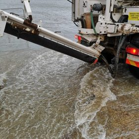 Free-flowing screed service in dorset