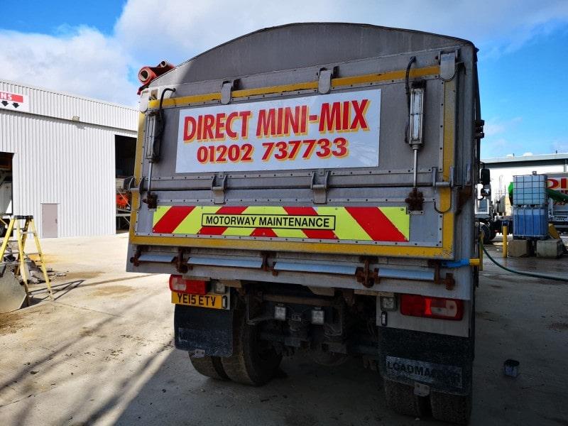 direct mini mix concrete in concrete