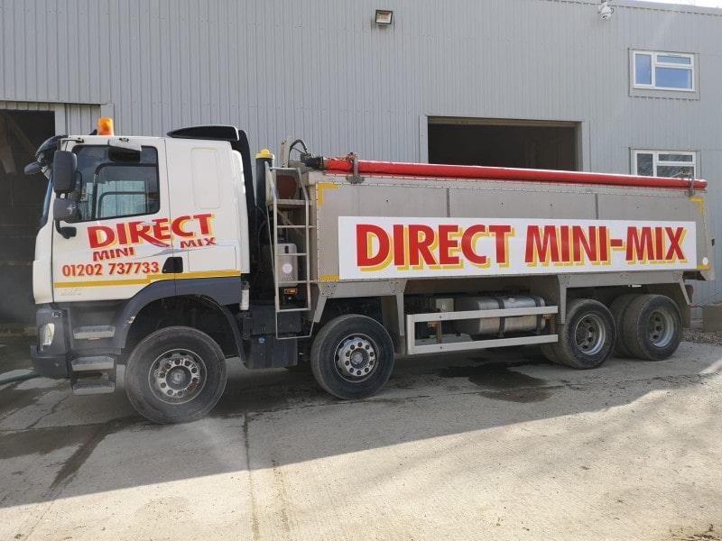 direct mini mix concrete dorset