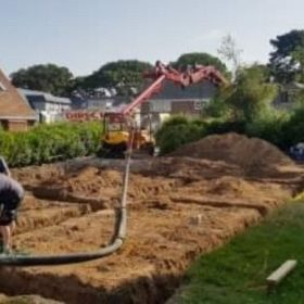 Commercial Foamed concrete services bournemouth