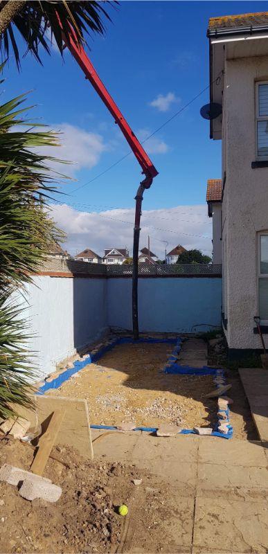Domestic Foamed concrete services bournemouth