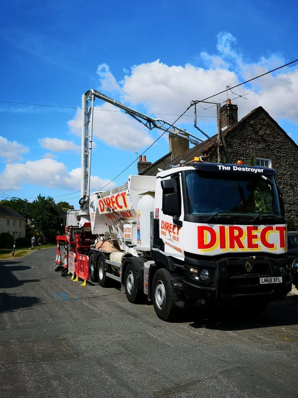 Liquid Concrete services in ringwood
