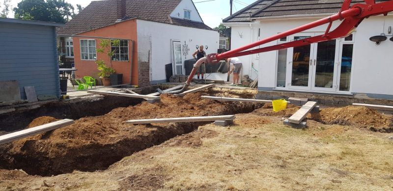 Liquid Concrete services in Dorset