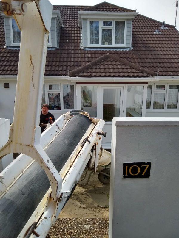 Commercial concrete pumping specialists Dorset
