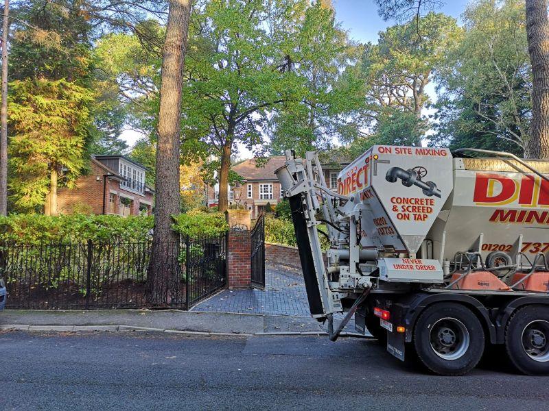 Domestic Concrete driveway services in dorset