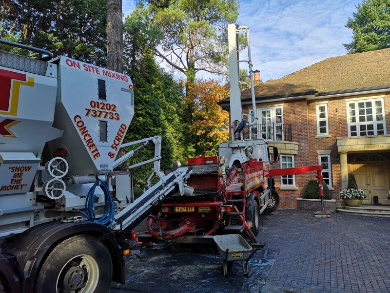 Domestic Concrete driveway service