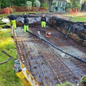 Commercial Concrete driveway services dorset