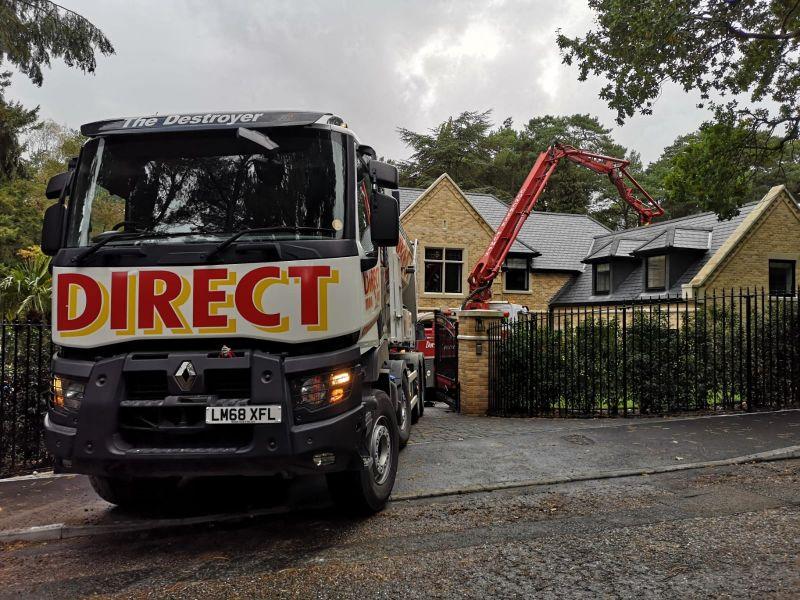 Commercial Concrete driveway services poole