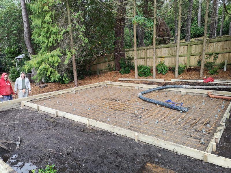 Commercial Concrete driveway services