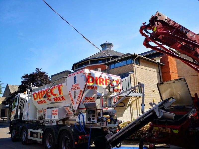 Domestic concrete suppliers company