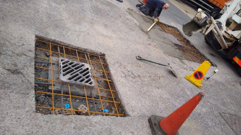 Lets get pumping concrete!