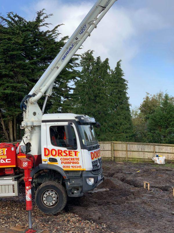 Best domestic concrete pumping specialists dorset