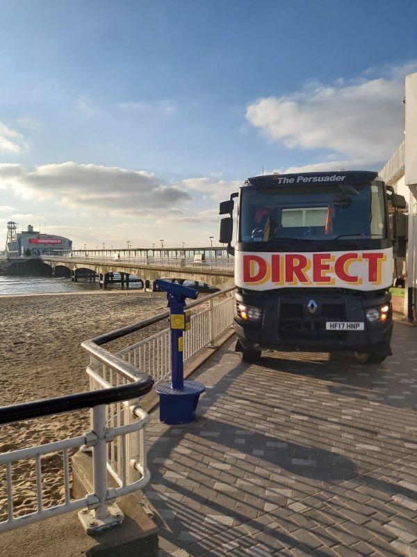 Bournemouth beach Direct mini mix