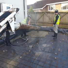 Direct Mini Mix Limited laying concrete