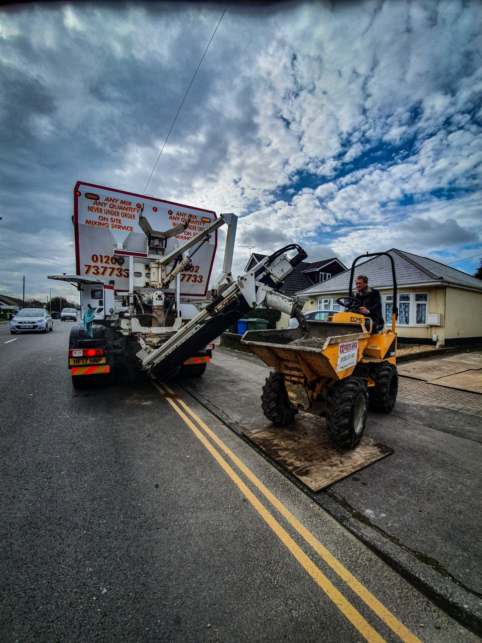 Concrete Pumping in Bournemouth